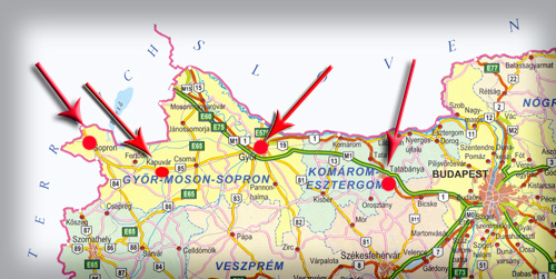 kapuvár térkép Szalai Dózer KFT